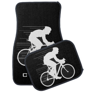 Cycling-Themed Car Mats Floor Mat