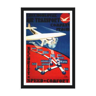Czechoslovak Air Transport - L Canvas Print