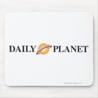 Daily Planet Logo Mouse Pad