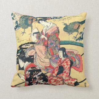 Daimyo Mansion 1801 Throw Cushions