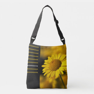 Daisy With Design Cross Body Bag Tote Bag