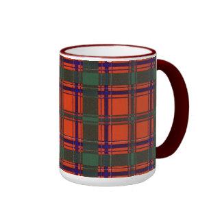 Dalzell clan Plaid Scottish tartan Ringer Mug