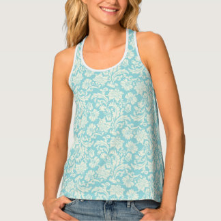 Damask Pattern 3 Tank Top