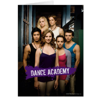 Dance Academy Class Greeting Card