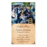 Dance at the Moulin de la Galette Auguste Renoir Pack Of Standard Business Cards
