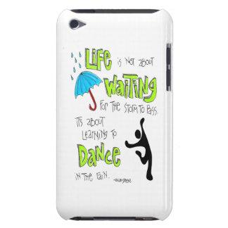 Dance in the Rain Quote iPod Case