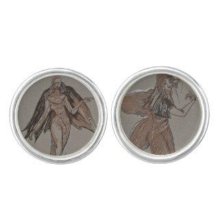 Dancing Bedouin Angels cufflinks