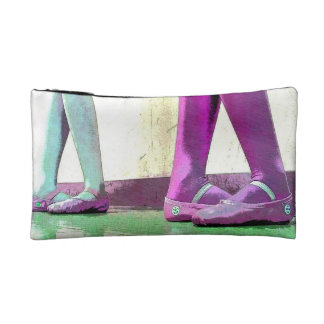 Dancing is like dreaming with your feet bag cosmetic bag