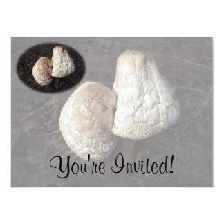 Dancing Mushrooms Duo 17 Cm X 22 Cm Invitation Card