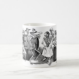 """Dancing the Jarabe in the Other World"" Basic White Mug"