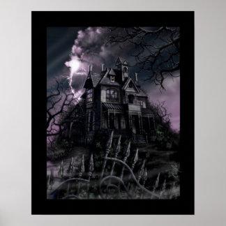 """Dark Mansion"" Poster"