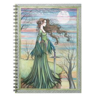 Dark Winds of Morgan Notebook