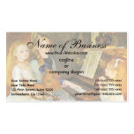 Daughters of Catulle Mendes; Pierre Auguste Renoir Pack Of Standard Business Cards