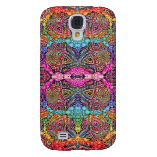 Day-Glo Pattern Drench Galaxy S4 Cover