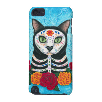 Day of the Dead Cat Sugar Skull iPod Touch Case