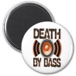 DEATH by BASS 6 Cm Round Magnet
