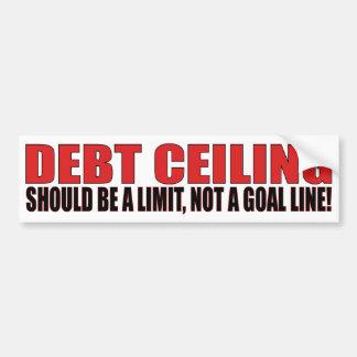 Debt Ceiling Bumper Sticker