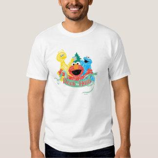 Deck the Hall Sesame Street T Shirt
