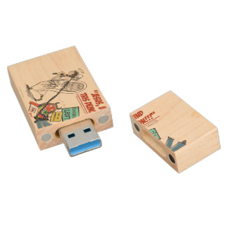 Declare Spiritual Warfare! USB Wood USB 3.0 Flash Drive