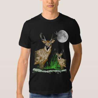 Deer Art Wildlife T-Shirt
