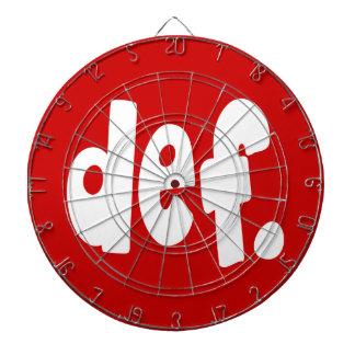 def. dartboard with darts