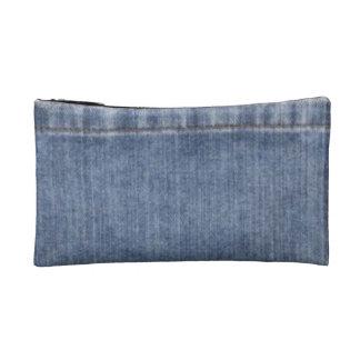 Denim-like Cosmetic Bag