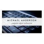 Desktop Laptop Computer Repair Technician Pack Of Standard Business Cards