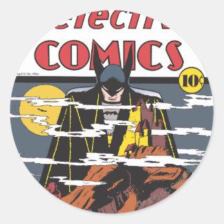 Detective Comics #31 Round Sticker