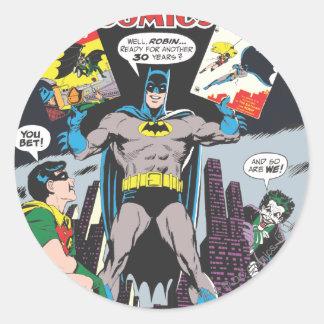 Detective Comics #387 Round Sticker