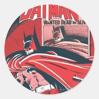 Detective Comics #546 Round Sticker