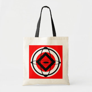 Diamond, Sphere, Ellipses Budget Tote Bag