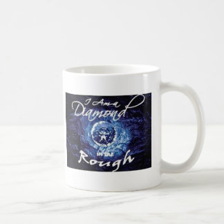 Diamonds in the Rough Basic White Mug