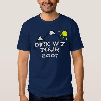 DICK WIZ Tour 2007 T-shirt