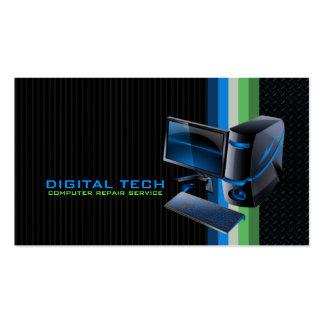 Digital Tech. Computer Business Cards