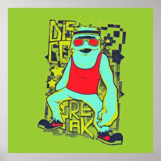 Disco freak  poster