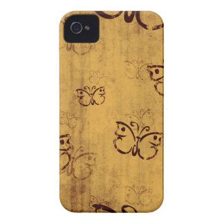 Distressed butterfly stylish blackberry bold case