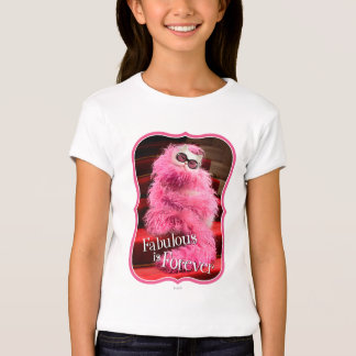 Diva White Cat Wrapped in Pink Boa on Red Carpet Tee Shirts