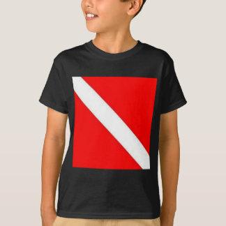 Diver Down Flag design Shirt