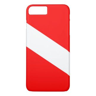 Diver Down Flag iPhone 7 Plus Case