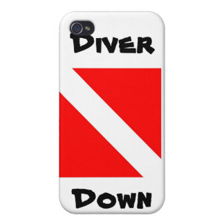 Diver Down iPhone 4 Covers