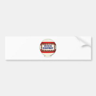 Dixie Highway - Vintage Advertising Bumper Sticker