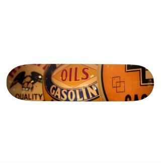 Dixon, New Mexico, United States. Vintage Skate Board