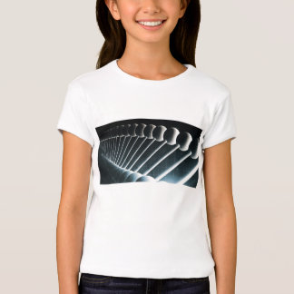 DNA Helix Abstract Background as a Science Concept Shirts