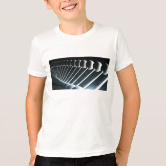 DNA Helix Abstract Background as a Science Concept Tshirts