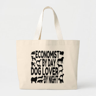 Dog Lover Economist Jumbo Tote Bag