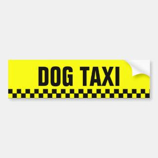 Dog Taxi Bumper Sticker