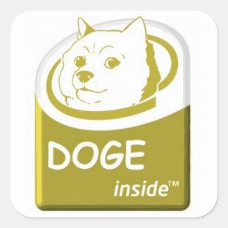Doge Inside Sticker