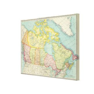 Dominion of Canada political Gallery Wrap Canvas