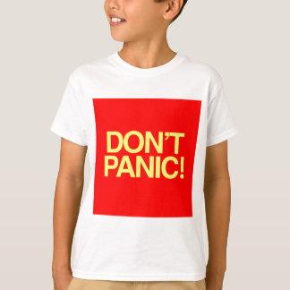 Don't Panic T-shirts