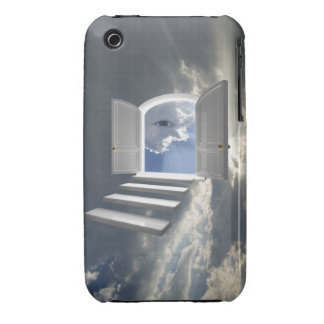 Door opened on a mystic eye iPhone 3 Case-Mate case